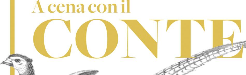 """""""A Cena con il Conte"""" al Rosenbar"""